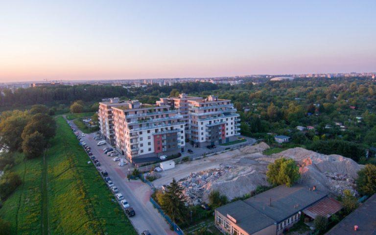 Zespół budynków mieszkalnych Na Zakolu Wisły w Krakowie